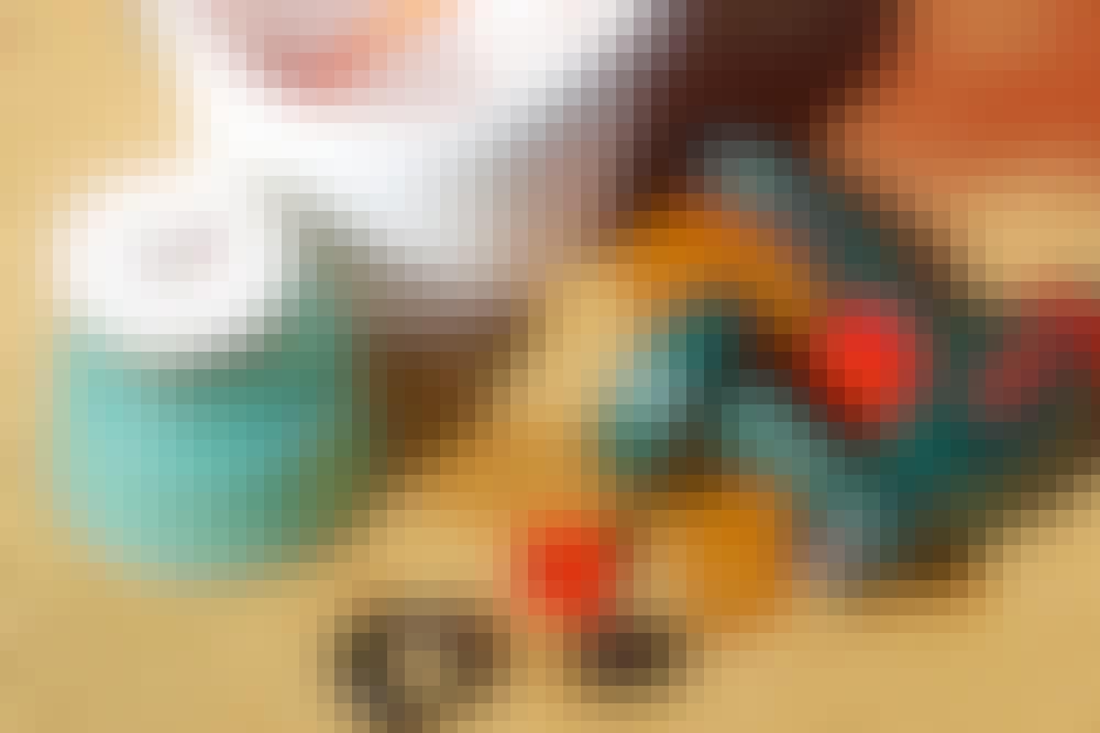 Sprutmålning - Så gör du: När du är klar med färgsprutan tar du isär den direkt och rengör den.