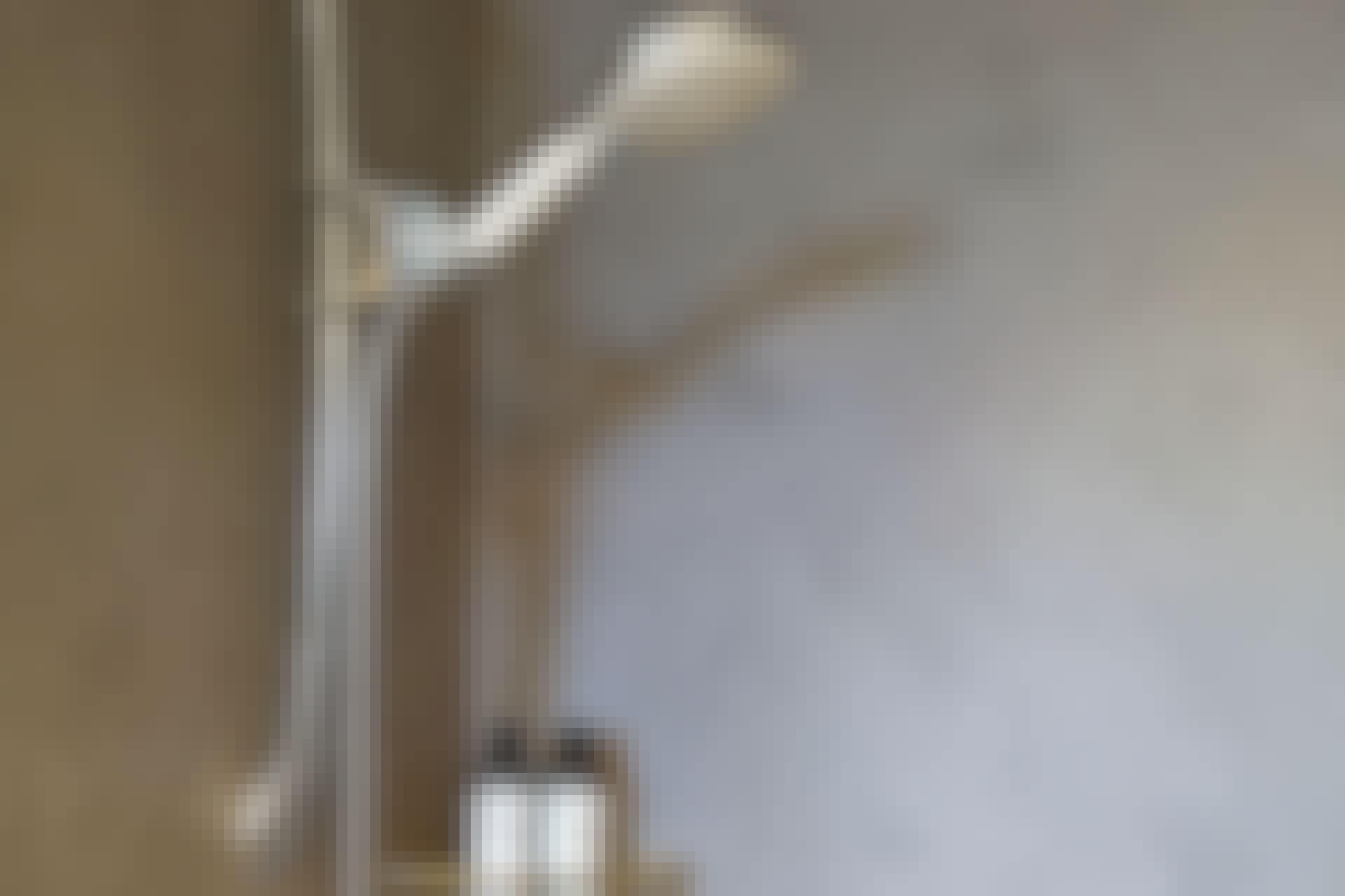 Med et tynt lag Conteco på de eksisterende flisene, fremstår dusjnisjen som både stilren og moderne.