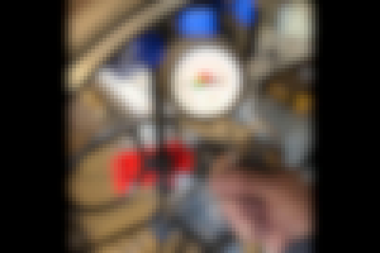 Lufttrycksverktygen: Pumpa däck med tryckluftspump