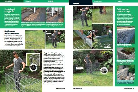 Gabion: Se hvordan du bygger en gabion