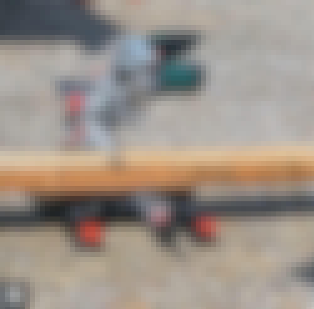 Skydeport: Portfanget (M) skæres til.