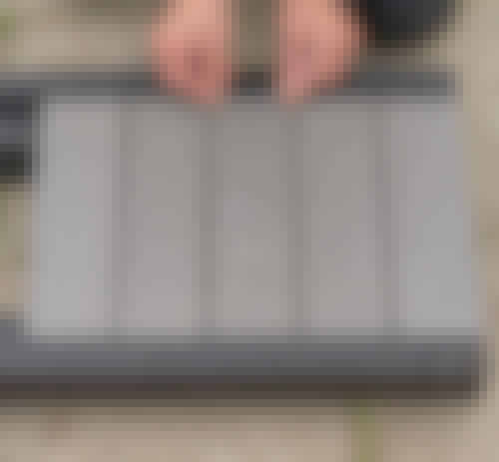 Säilytyslaatikko ulos tee itse: Aseta muut laudat (C) ja oikaise ne silmämääräisesti.
