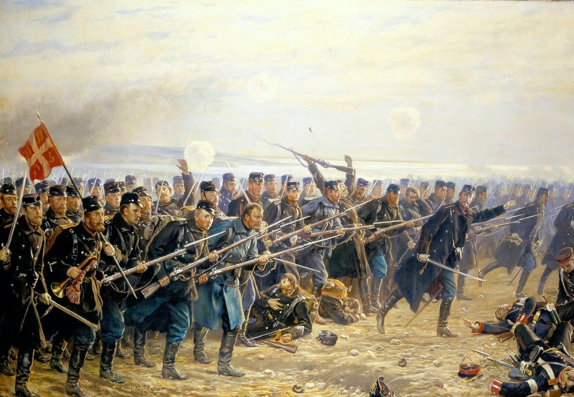 Dybbøl mølle 1864