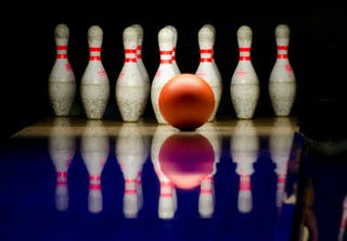 kegler spil bowling