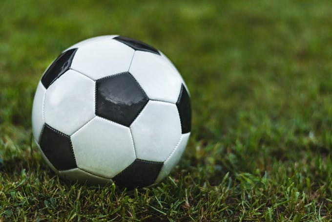 Fodbold græs bold