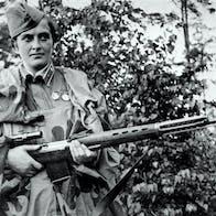 Ludmila Pavlitjenko; skarpskytter i Den røde armé under andre verdenskrig.