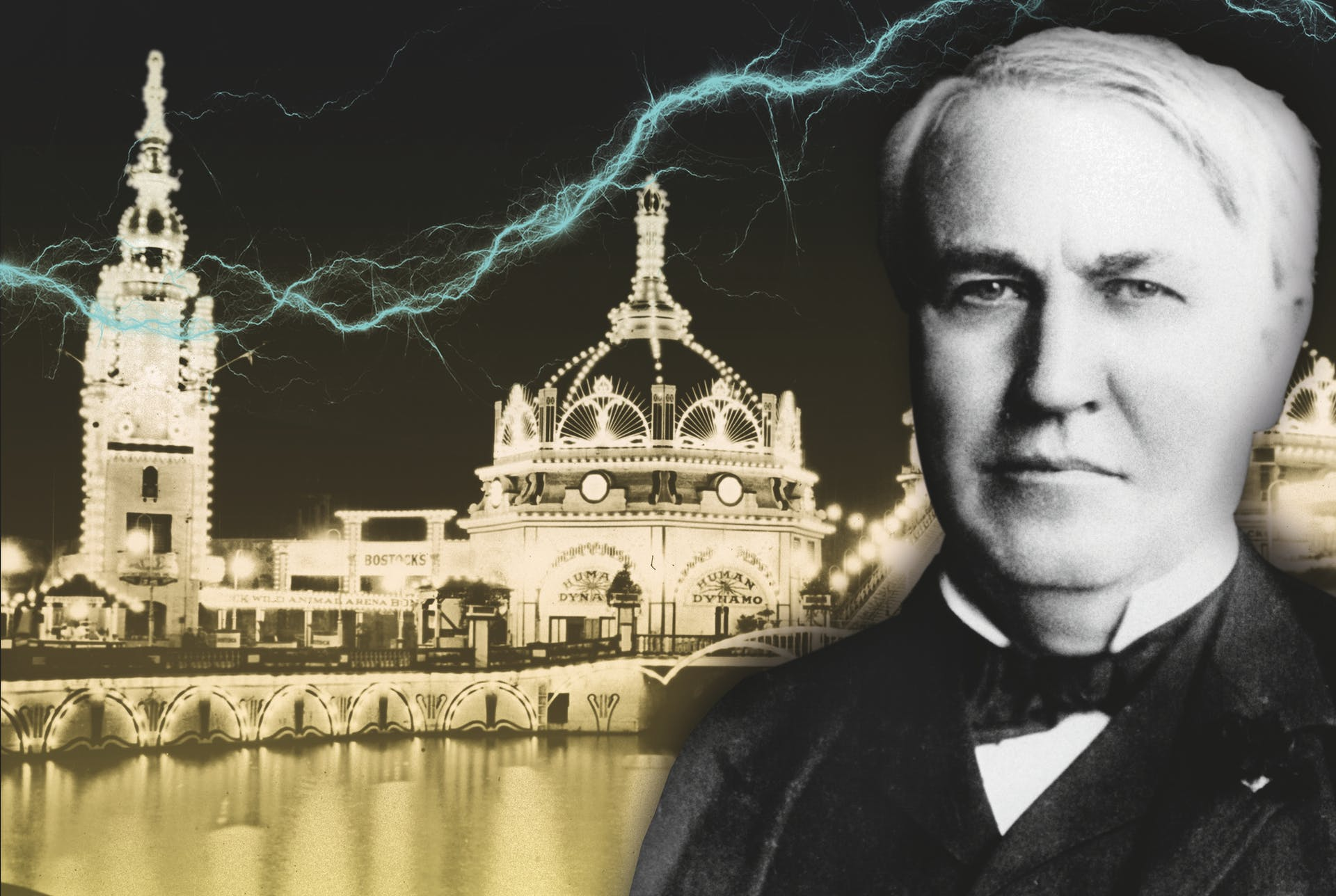 Edison Ging Tegen De Stroom In Historianetnl