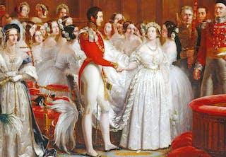 Brudekjolen ble hvit