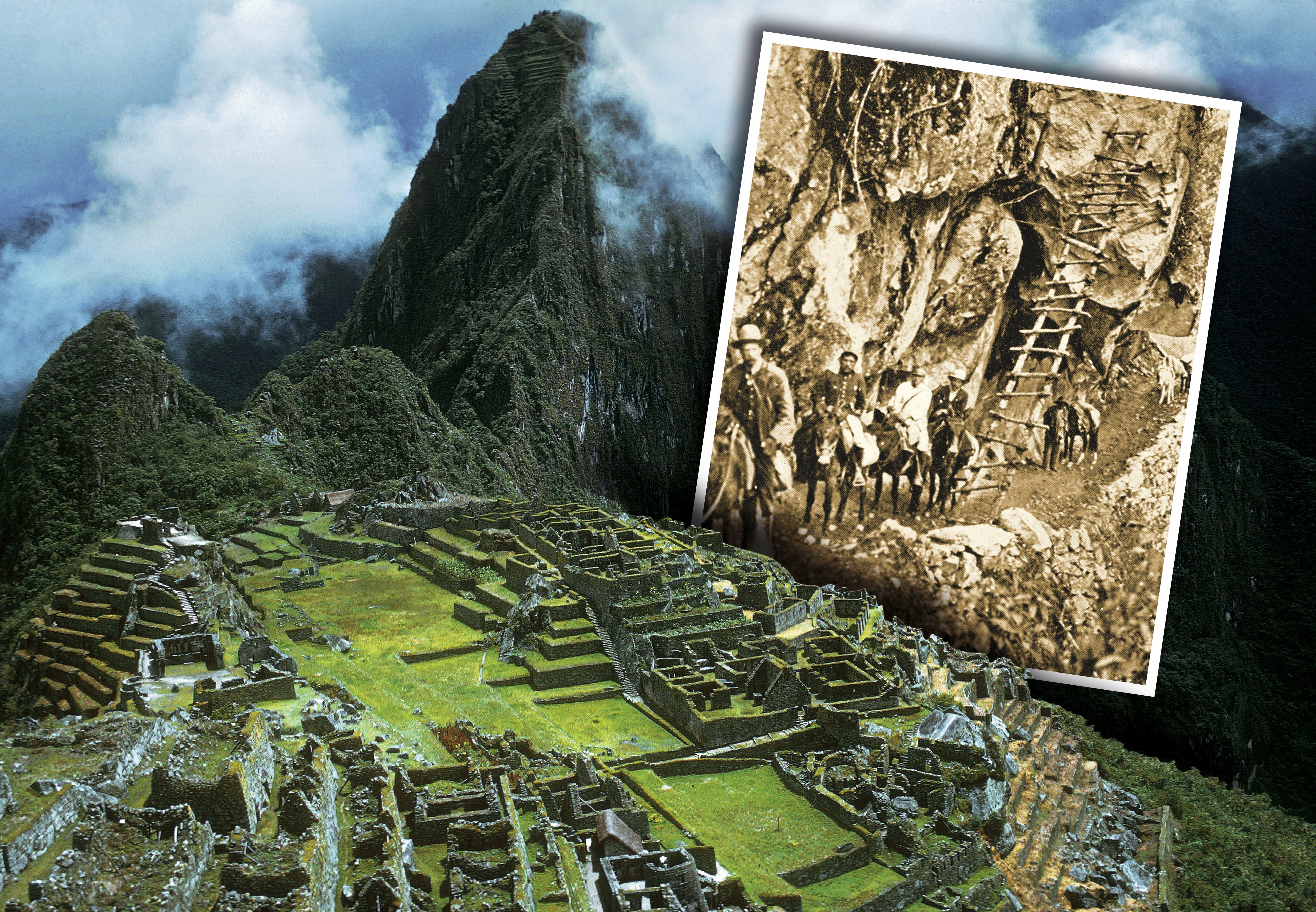 Machu Picchu Kom Med Til Den Glemte Inka By Historienet Dk