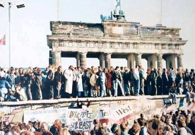 Berliinin Muurin Murtuminen
