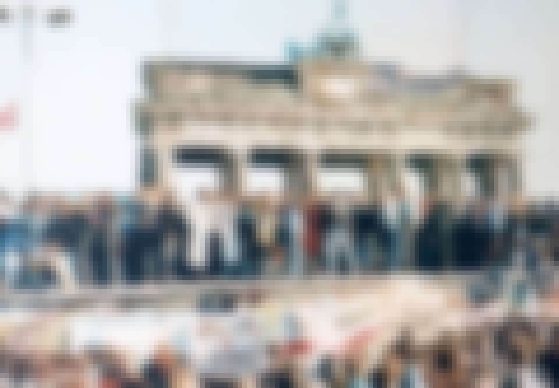 Berlinmuren For Under Og Efter Murens Fald Historienet Dk