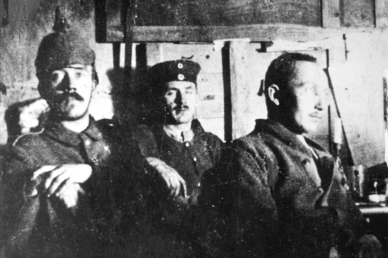 Hitler under 1. verdenskrig