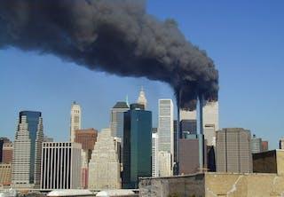 World Trade Center i brand