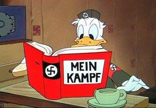 Kalle Anka som nazist