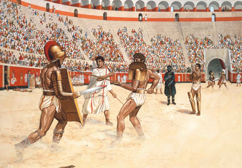Top 5: De grootste gladiatoren | historianet.nl