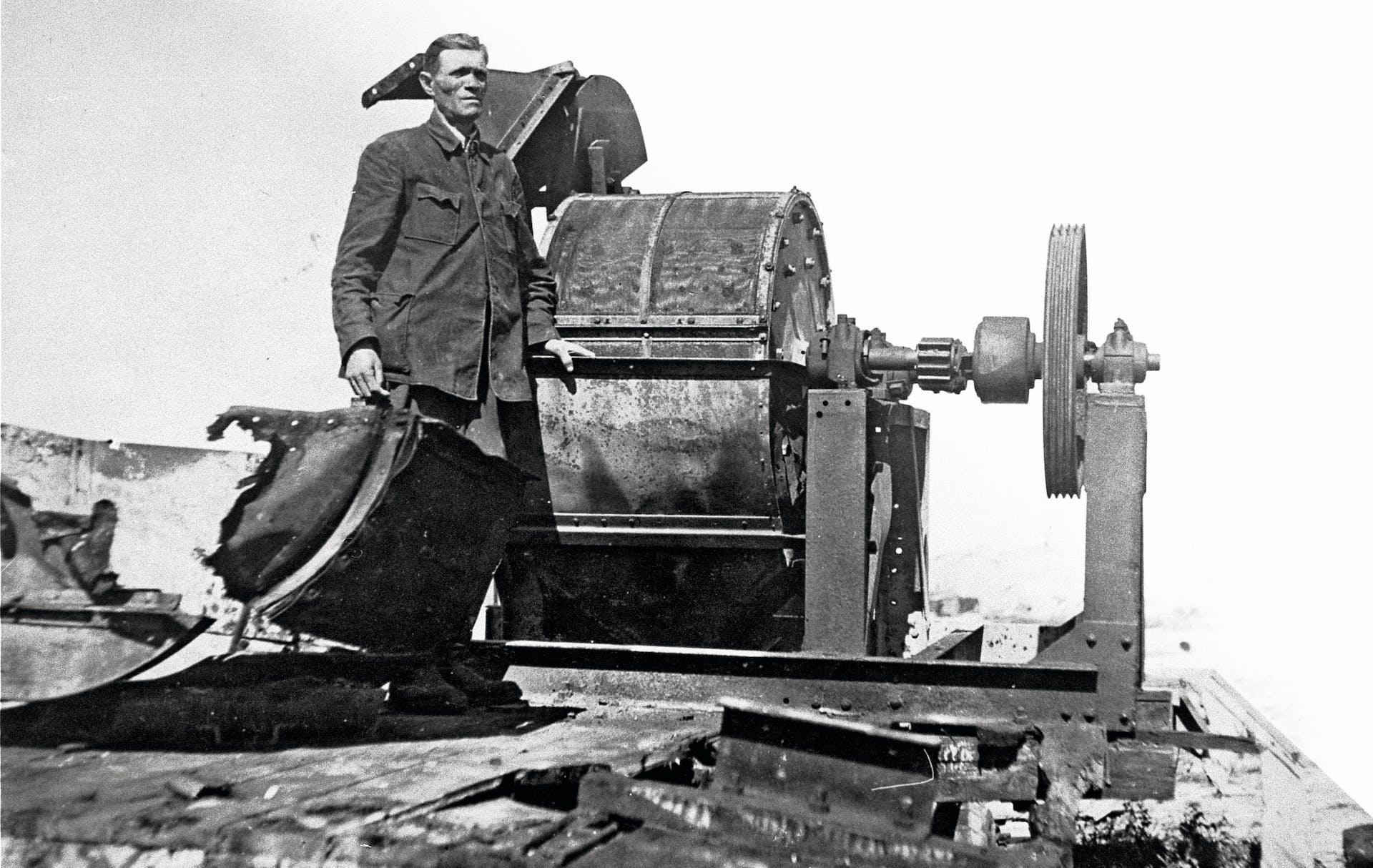 Den benkrossarmaskin som SS använde
