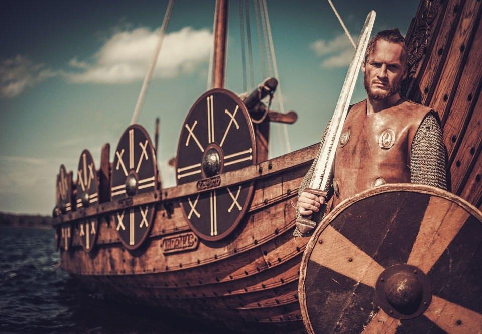 Se mit flotte vikingesværd