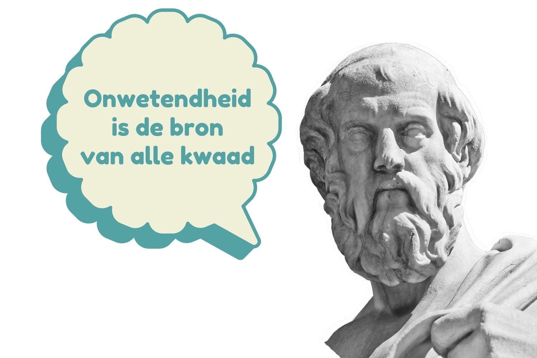 Plato De Filosofie Van De Griekse Denker In Het Kort