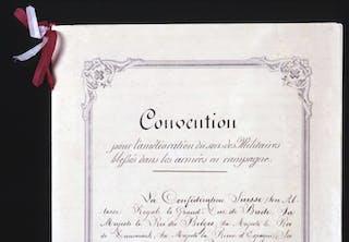 Suomi kuuluu Geneven sopimusten allekirjoittajiin.