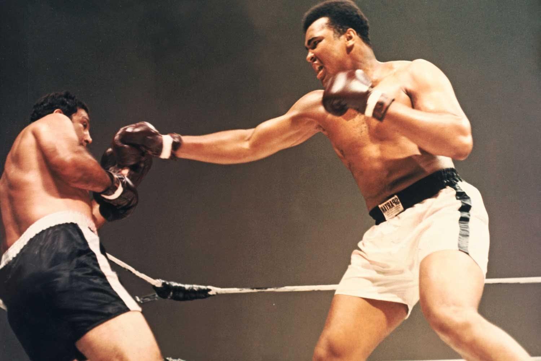 Muhammad Ali och Rocky Marciano