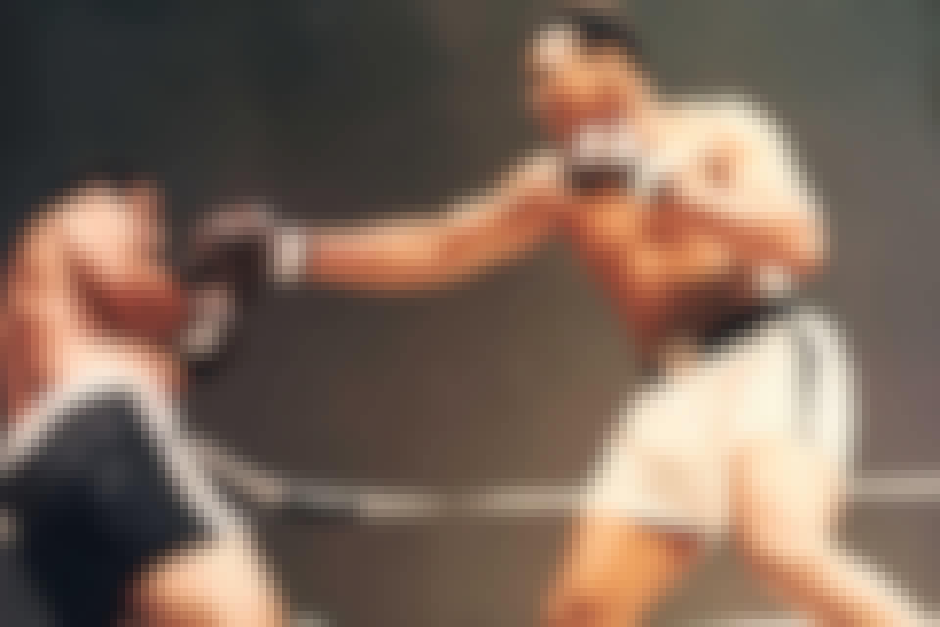 Muhammad Ali og Rocky Marciano
