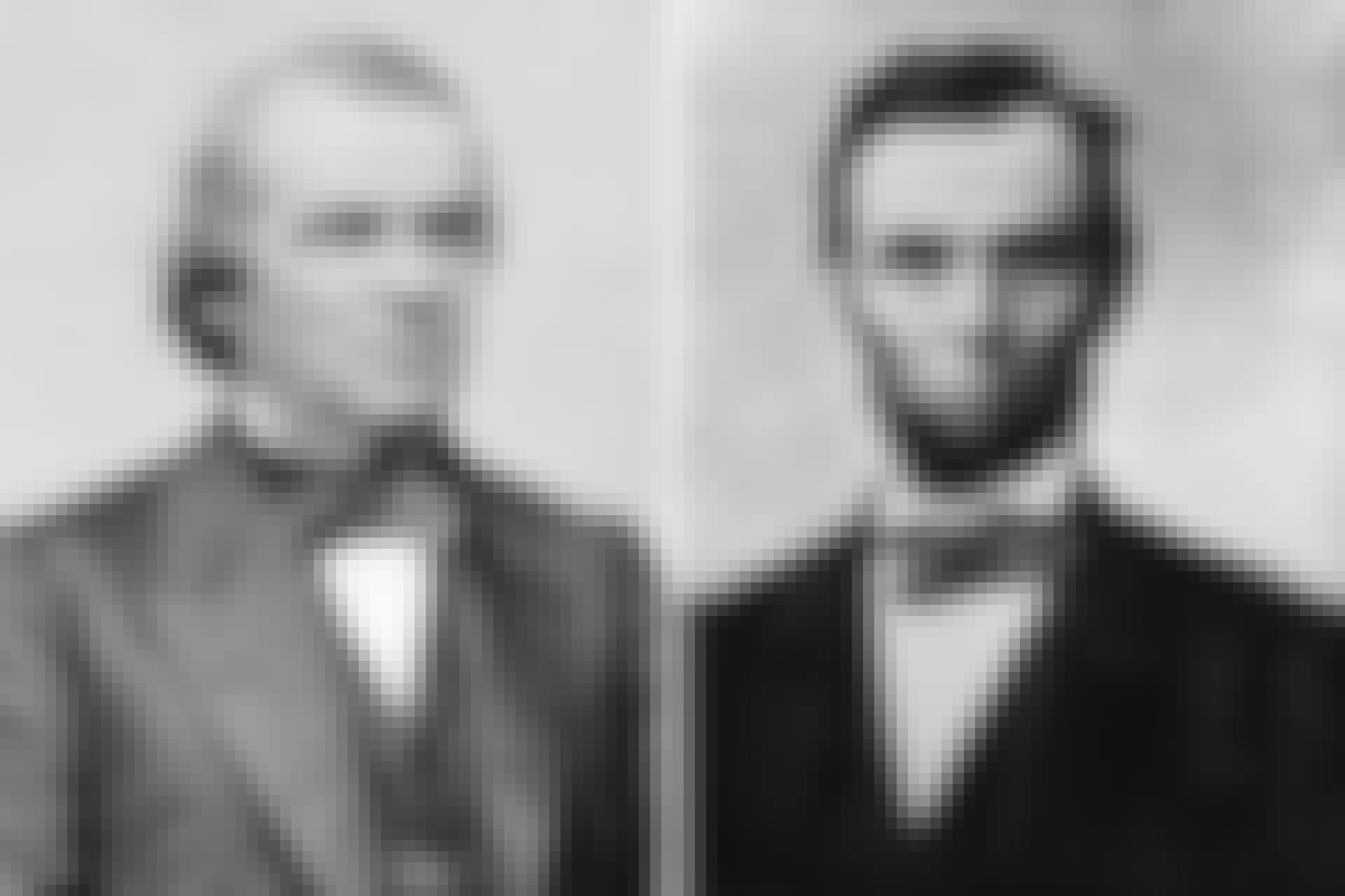 Andrew Johnson och Abraham Lincoln