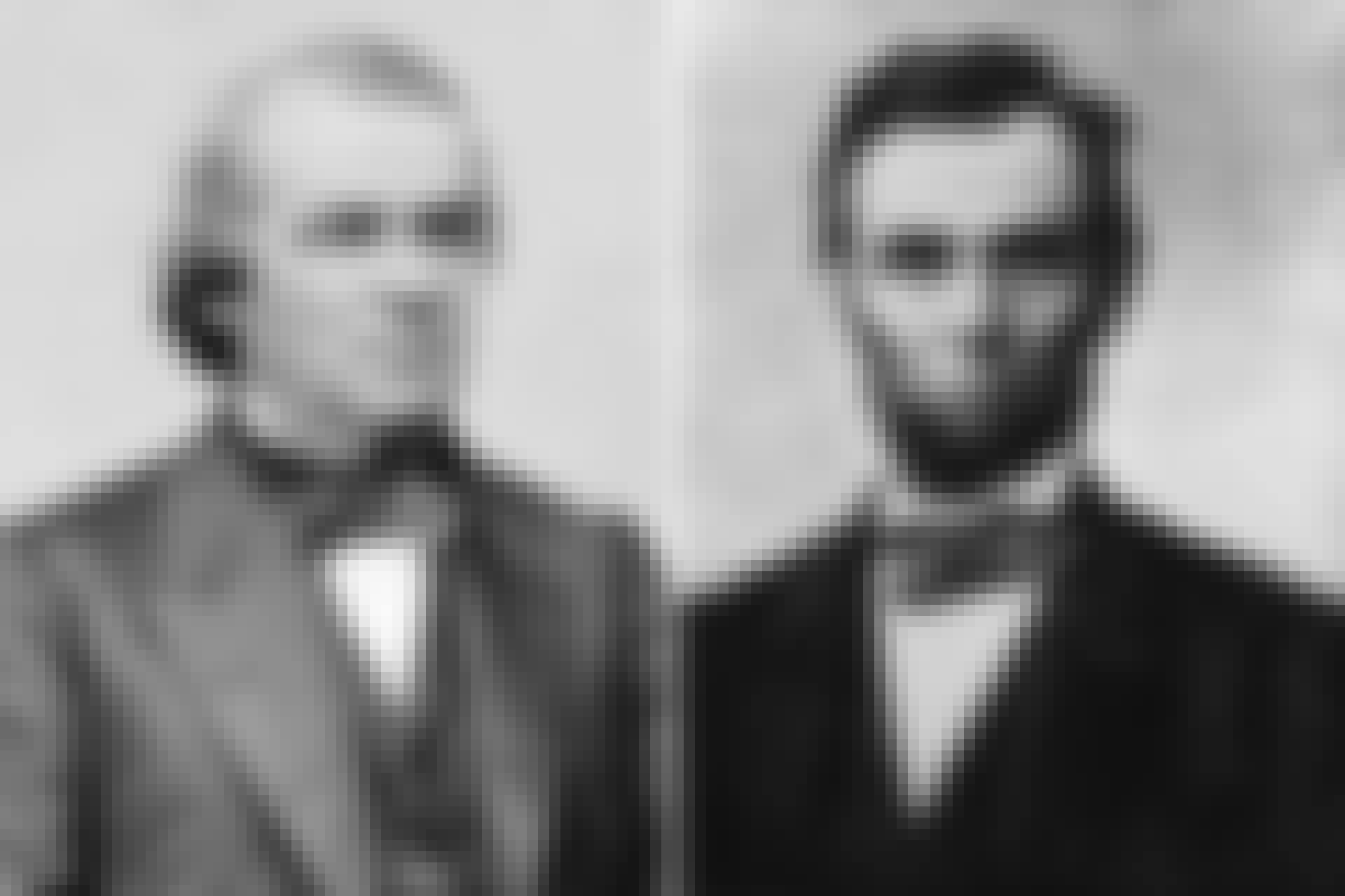 Andrew Johnson og Abraham Lincoln