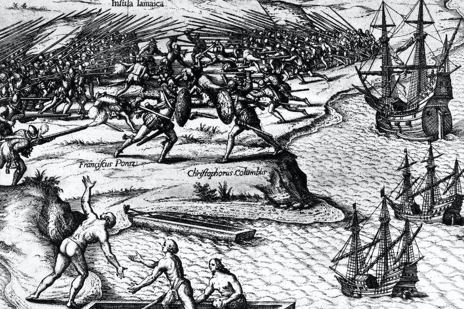 Columbus oppdager amerika