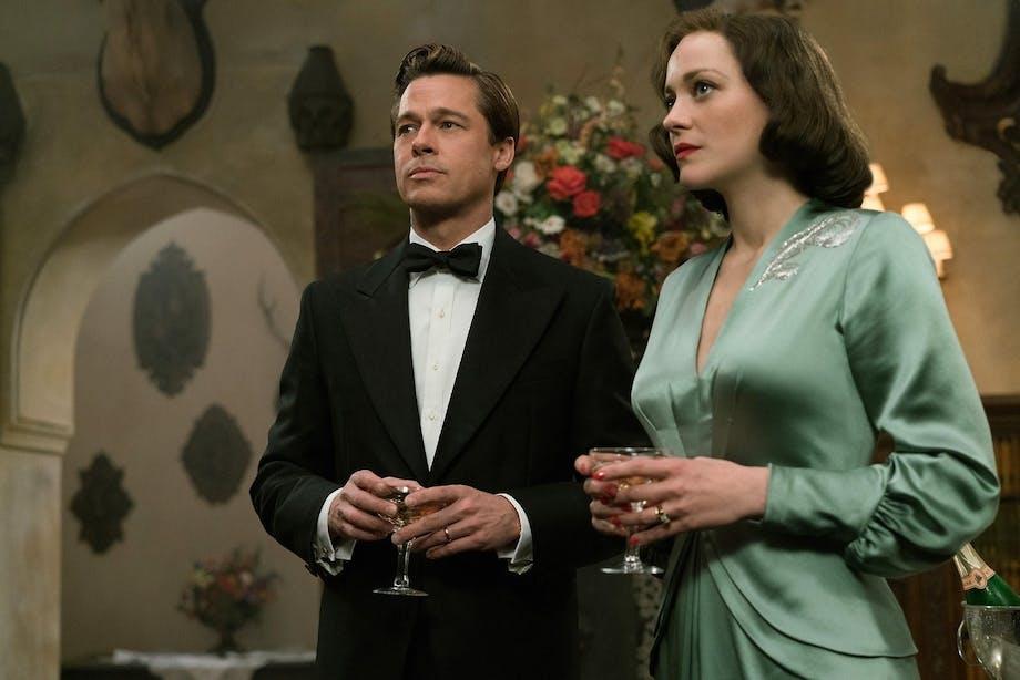 """I krigsdramet """"Allied"""" forelsker de to spioner Max Vatan og Marianne Beausejour sig i hinanden, men det skal vise sig at volde dem en hel del problemer. Filmen har dansk premiere den 24. november."""