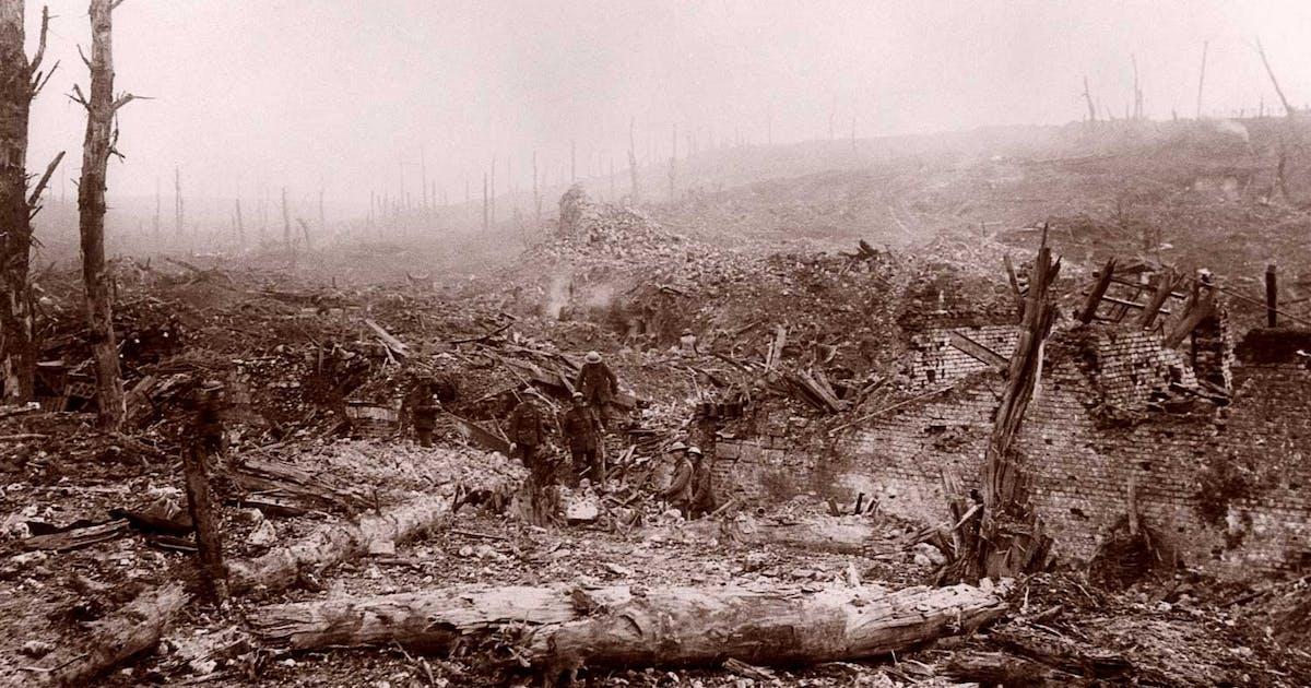 Slaget Ved Somme 140 Dage I Helvede Historienet Dk