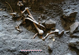 Beenderen bij Pompeï