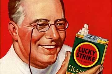 Reklam för Lucky Strike
