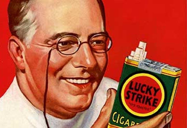 Lucky Strike-reclame
