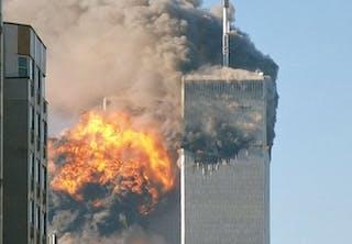 Explosie in het World Trade Center