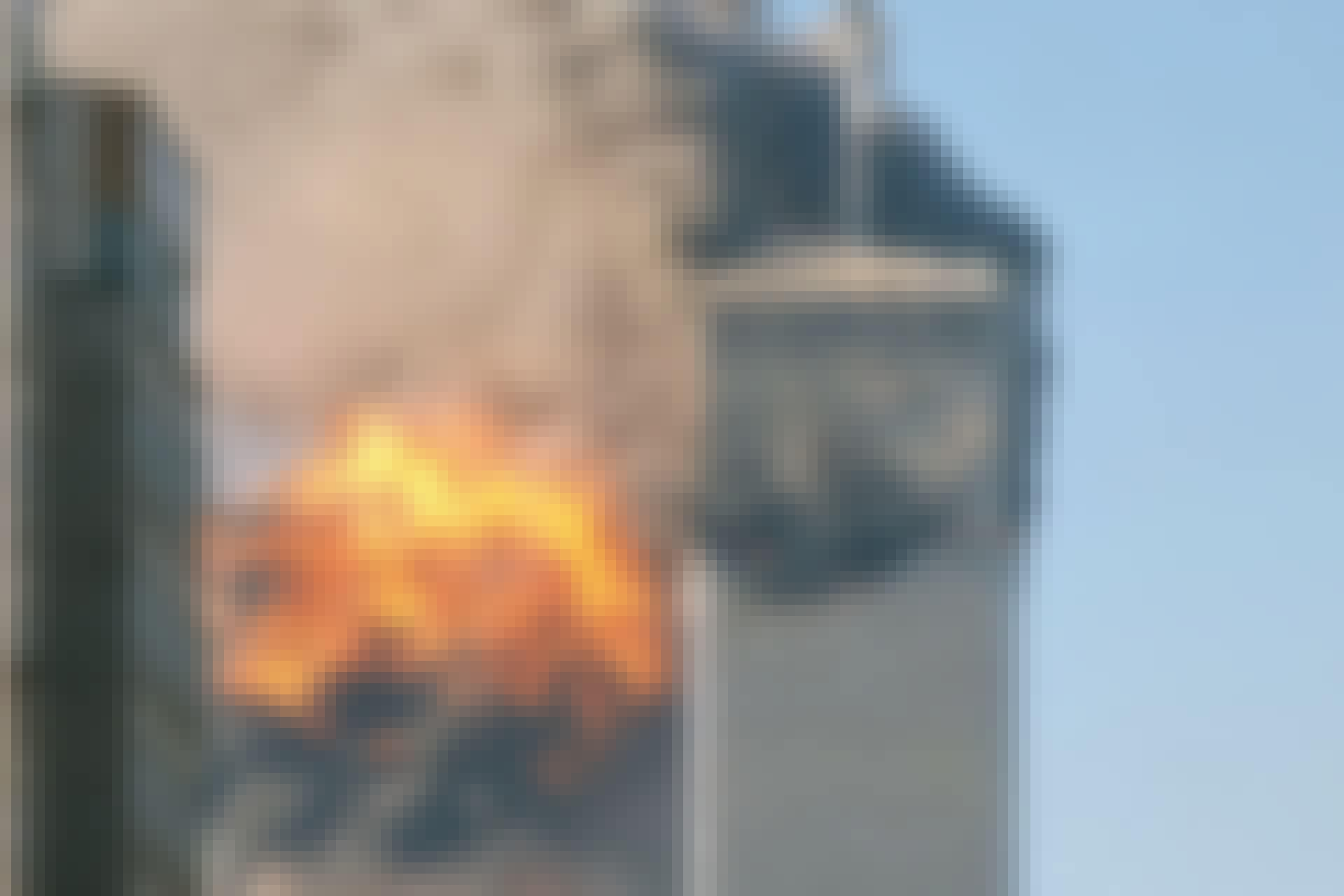 World Trade Center eksplosion