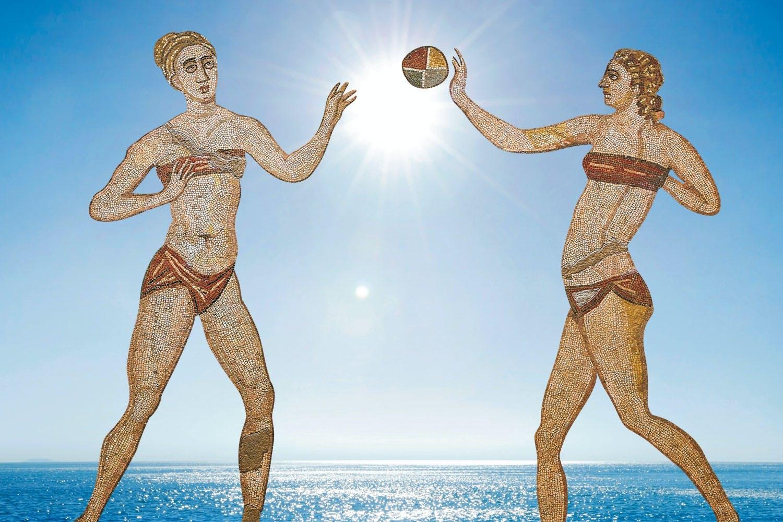 Volgens de dichter Ovidius moest elke viriele man naar Baiae komen om zijn lusten bot te vieren.