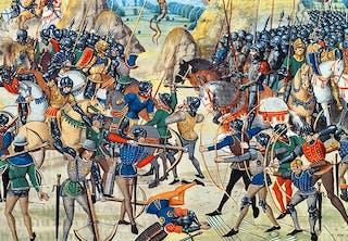 Hundredårskrigen.