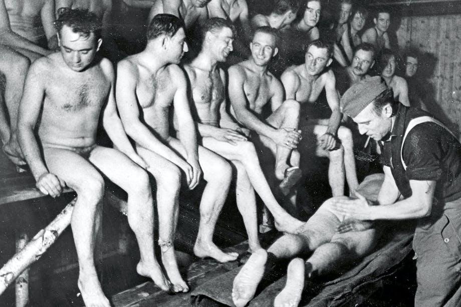 Sauna-venner og krigskammerater