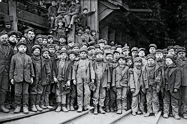 Børnearbejdets sande ansigt.