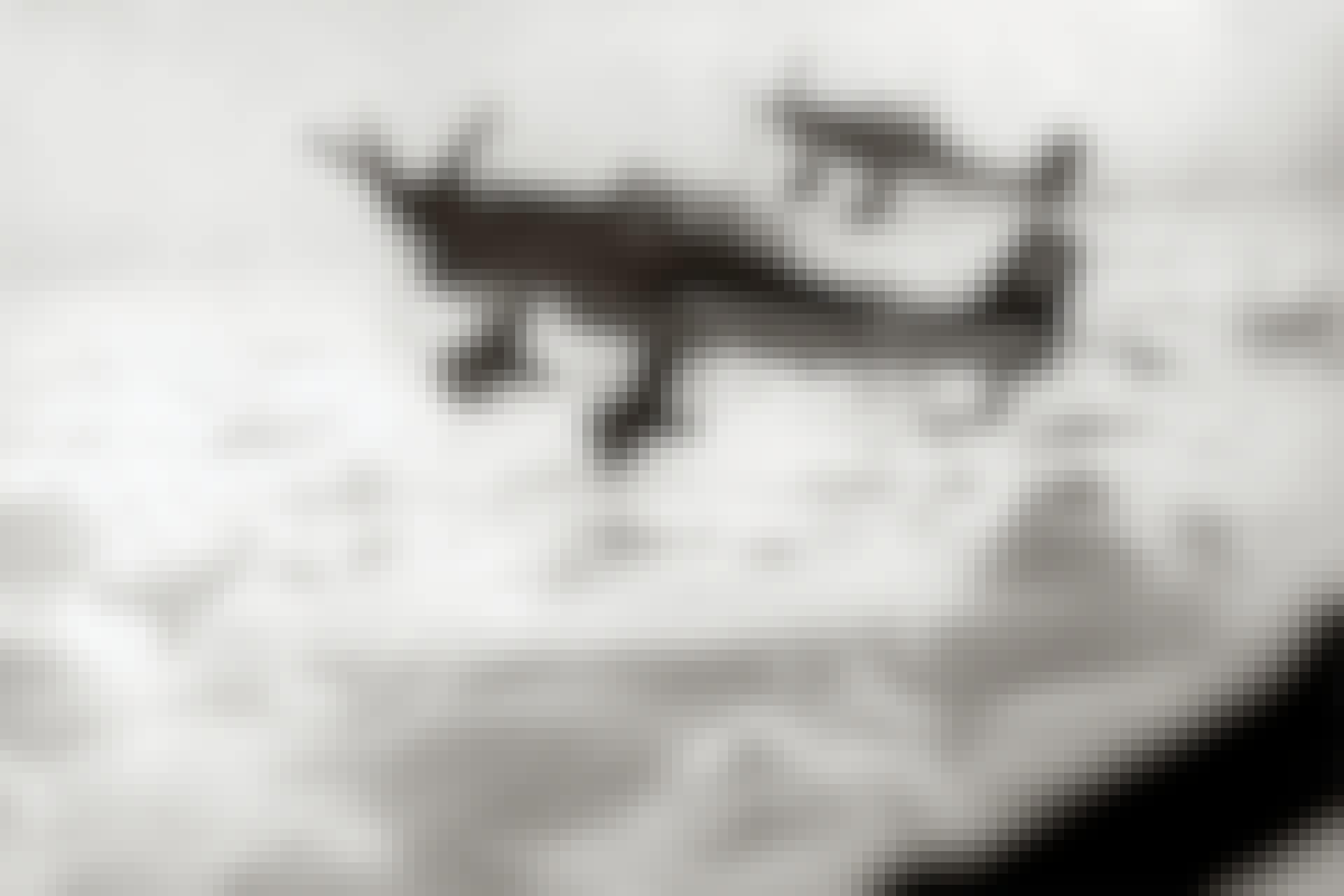 Två Junkers Ju 87 Stuka i luften.