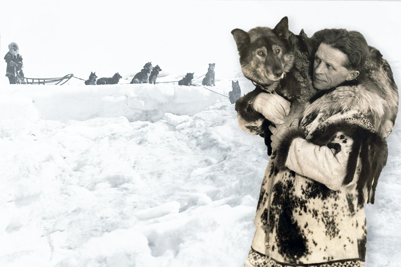 Serumstafetten i Alaska 1925.