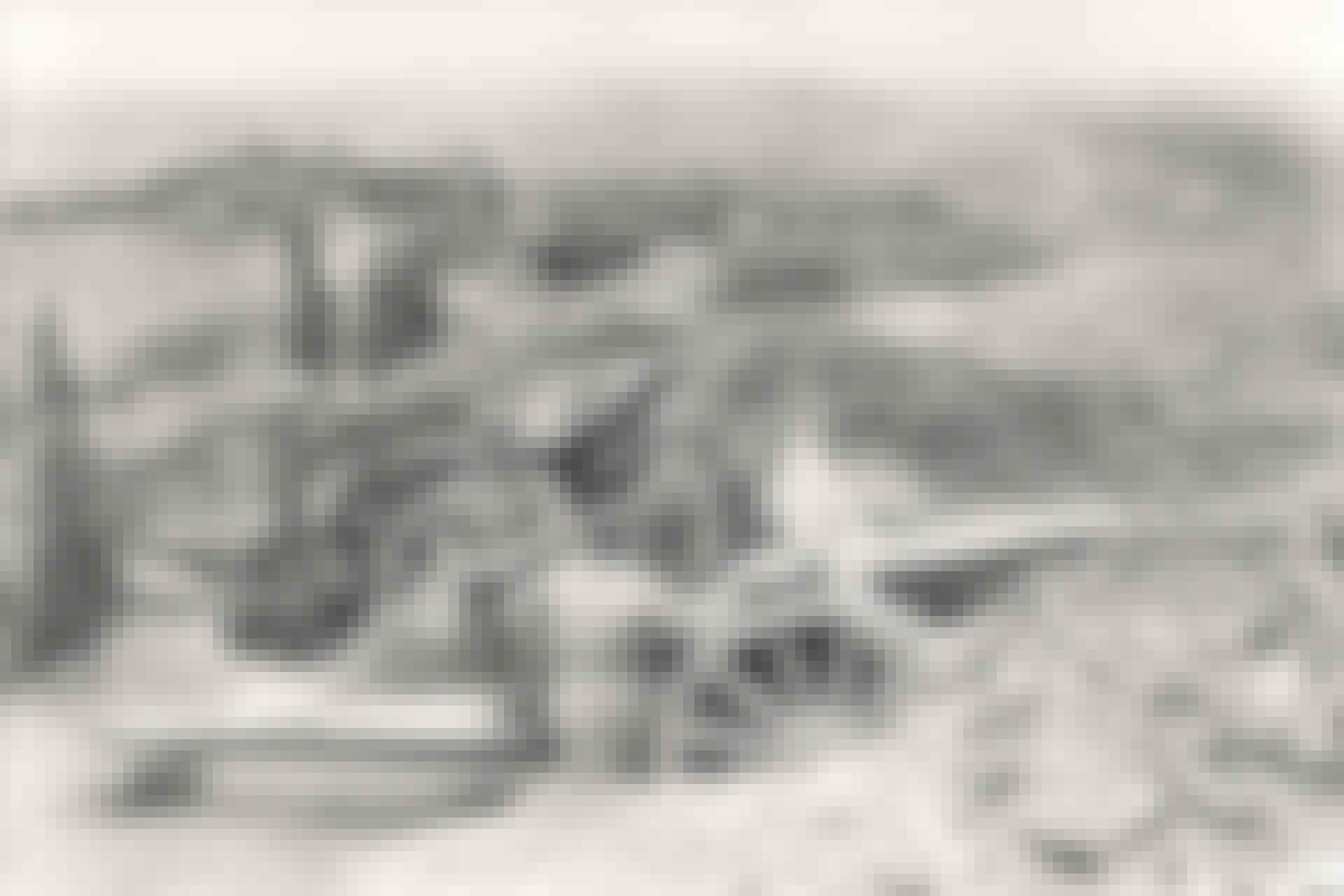 Första Balkankriget. Bulgariskt artilleri utanför Adrianopel.