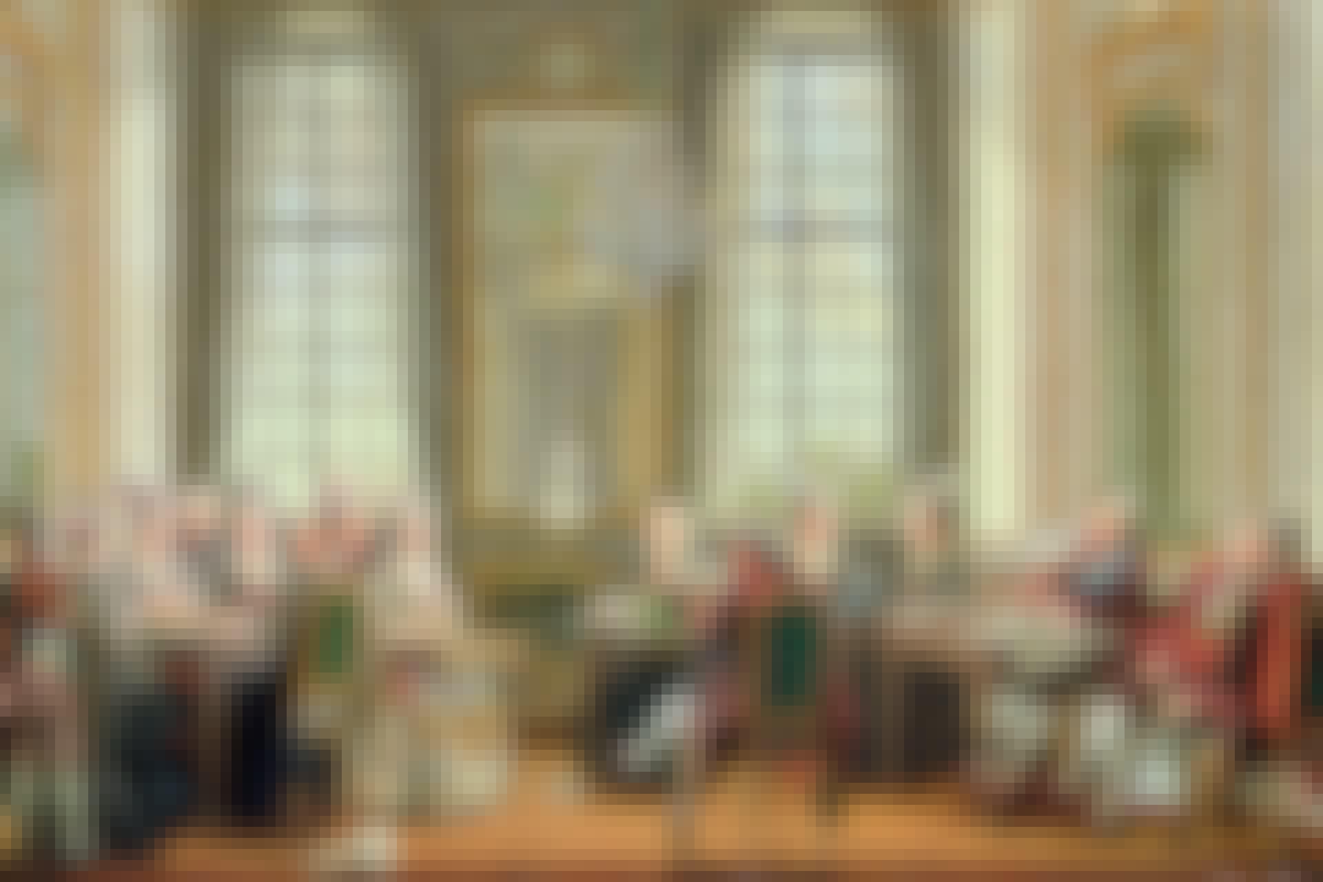Gustav III:s hov avbildat 1779.