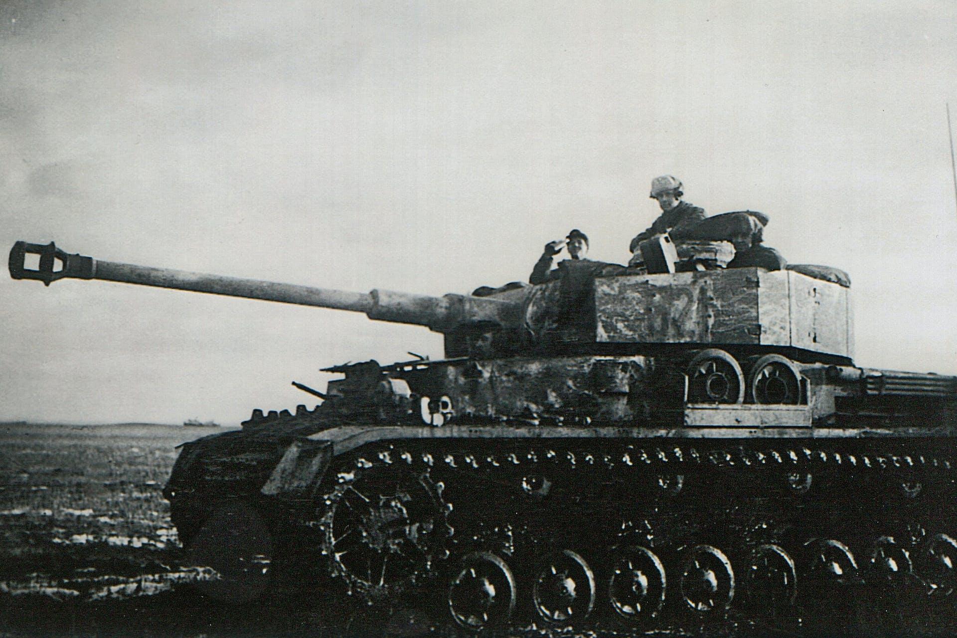 Nils Rosén, Panzer IV, östfronten 1944, frivillig i Wehrmacht, Zjytomyr