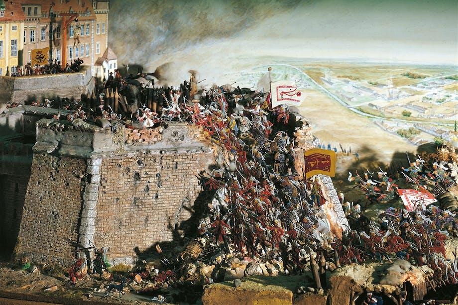 Janitsjarer under beleiringen av Wien 1683.