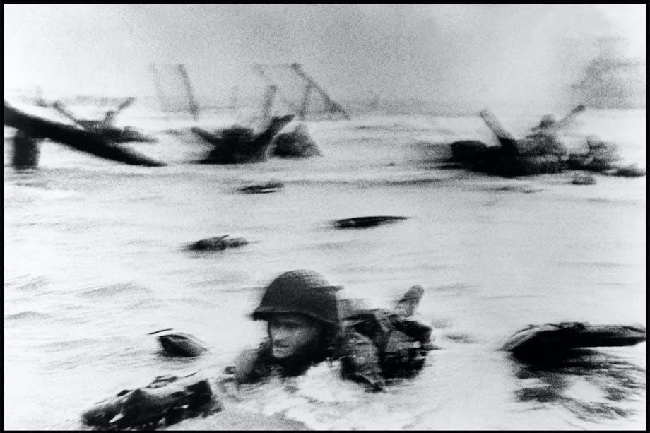 Omaha Beach, Normandie, Frankrike 6. juni l944