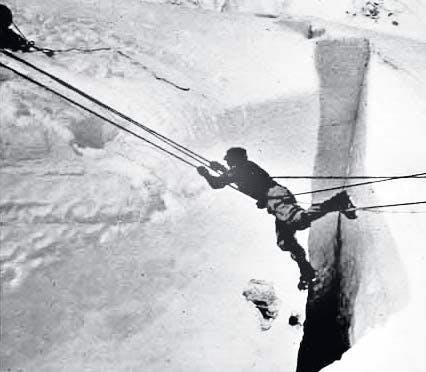 1952: Schweizere prøver ny rute