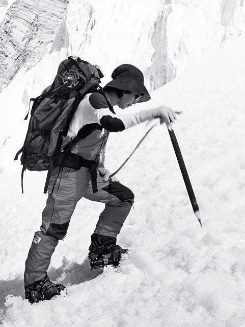 1975: Den første kvinde når toppen
