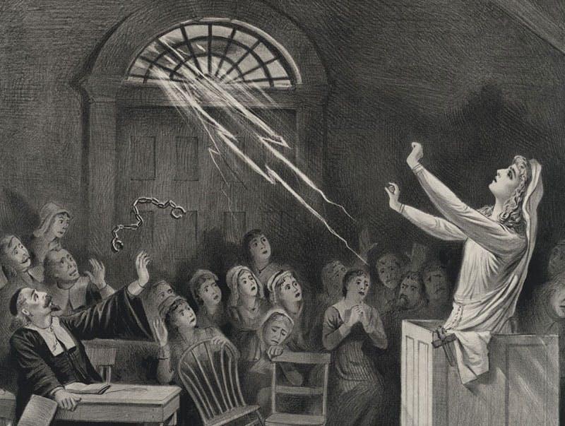 Salem witch trials, close-up