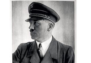 Adolph Hitler in uniform